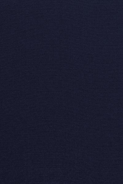 Adriatic blue silk crepe Hijab - L'étoffe de Saba